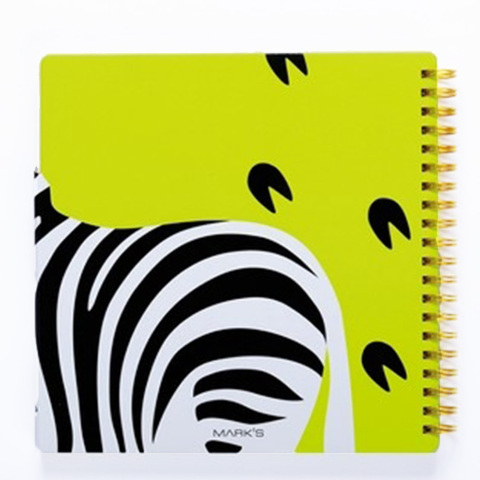 animal notebook zebra2