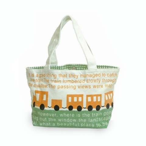 mini totebag train