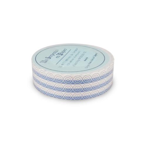 water tape 15 streifen blau