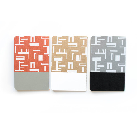 notebook set s abstract